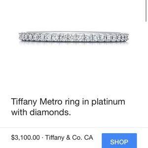 Tiffany & Co. Metro diamond band